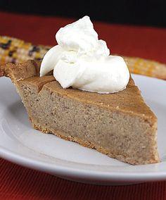 Parsnip Buttermilk Pie