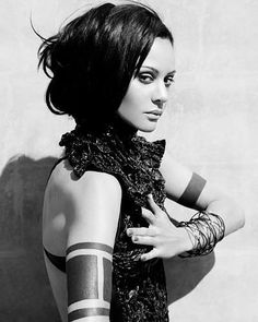 Arm tattoo actress Persia White, you may remember her from the show Girlfriends (2000 ->2008) with Tracee Ellis Ross