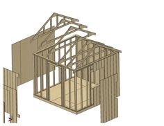 Do it yourself plans for a 10x10 shed.