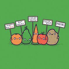 Veggies have feelings too!