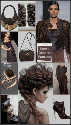 Brown Granite-Pantone Spring/ Summer 2019 Color by Reyhan S. Petra Brown Granite-Pantone Spring/ Summer 2019 Color by Reyhan S. Brown Granite-Pantone Spring/ Summer 2019 Color by Reyhan S. Spring Fashion Trends, Spring Summer Fashion, Autumn Winter Fashion, Winter Trends, Summer Trends, Color Trends, Color Combinations, Color 2017, Brown Granite