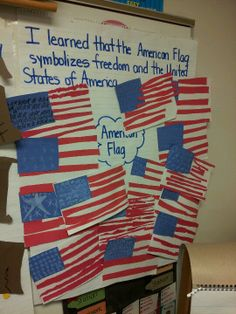 American Symbols Unit for 2nd grade Common Core