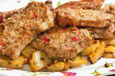 Receta de Lomo al horno con patatas
