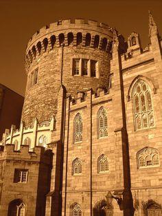 Dublin Castle, built between 1208 and 1220, Dublin, Ireland