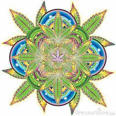 Optical illusion marijuana