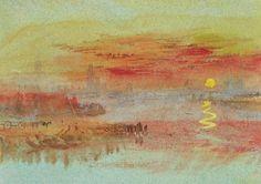 william turner - Scarlet Sunset - 1830/1840