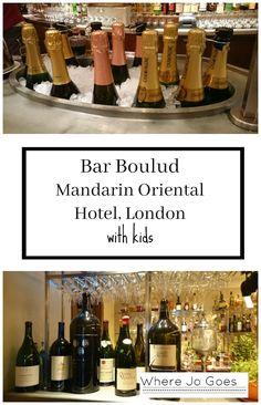 Bar Boulud Restaurant, Mandarin Oriental Hotel, London Child friendly dining