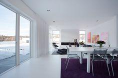 Modern Swedish Villa Dining Room 1