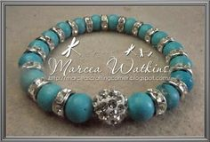 *Marcea's crafting corner*: Lovely turquoise
