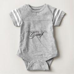 #cute #baby #bodysuits - #Pretty Girl Gang Baby Bodysuit