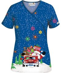 Print Scrub Tops for Women: Large Selection and Discount ...