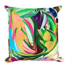 This soft pillow is an excellent addition that gives character to any space. It comes with a soft polyester insert that will retain its shape after many uses, a Soft Pillows, Spanish, Things To Come, Tapestry, Shapes, Plants, Home Decor, Hanging Tapestry, Flora