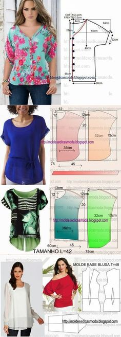 Amazing Sewing Patterns Clone Your Clothes Ideas. Enchanting Sewing Patterns Clone Your Clothes Ideas. Sewing Dress, Dress Sewing Patterns, Diy Dress, Blouse Patterns, Sewing Patterns Free, Sewing Tutorials, Clothing Patterns, Stitching Patterns, Blouse Designs