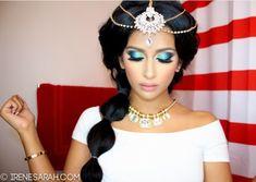 Jasmine makeup