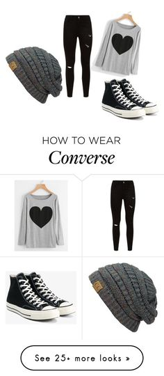 """""""tumblr"""" by aenoch-1 on Polyvore featuring Converse"""