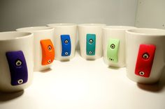 Rock Climbing Mug Set of 4 by crimpme on Etsy, $60.00