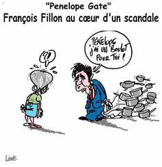 Lounis (2017-02-11) France: Cuisine parlementaire - Fillon -  https://www.facebook.com/louniscaricature/?ref=nf