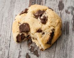 Coconut cookies and chocolate chips