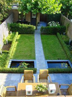 Tal uso inteligente de un pequeño jardín | Dreaming Jardines