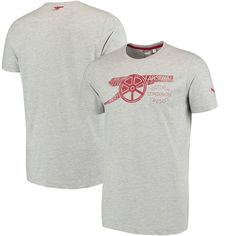 Arsenal Puma Cannon T-Shirt - Heather Gray