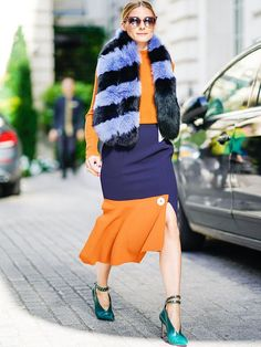 Olivia Palermo style: Out and About at Fashion Week