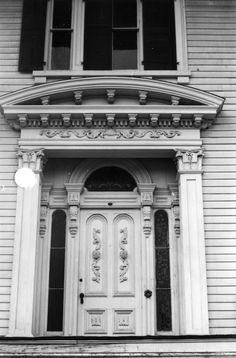 mansion doorway | , Bellamy Mansion, Wilmington, North Carolina (Bellamy, John Mansion ...