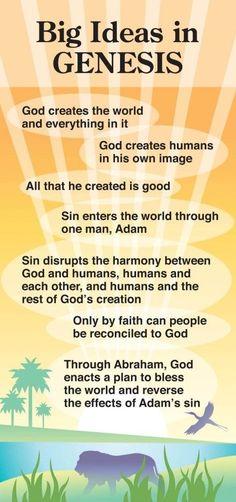 Big Ideas in Genesis