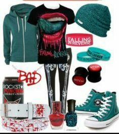 Falling in reverse outfit