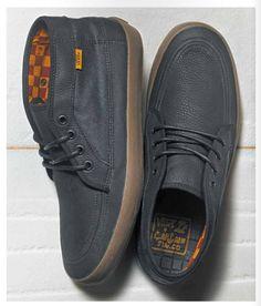 Vans x Captain Fin Company // Fairhaven Shoes - (Captain Fin) Black/Dark Gum