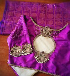 Blouse Back Neck Designs, Simple Blouse Designs, Stylish Blouse Design, Fancy Blouse Designs, Shirts & Tops, Stone Work Blouse, Wedding Saree Blouse Designs, Models, Beautiful