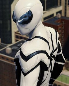 Spidey's Future Foundation suit I don't like the way they did they eyes in this version of the suit. Spiderman Suits, Black Spiderman, Spiderman Art, Amazing Spiderman, Marvel Comics, Marvel Heroes, Marvel Avengers, Arte Do Superman, Mundo Marvel