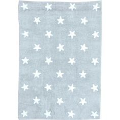 Alfombra Grey Stars White #Decoracion #Habitacion #Infantil