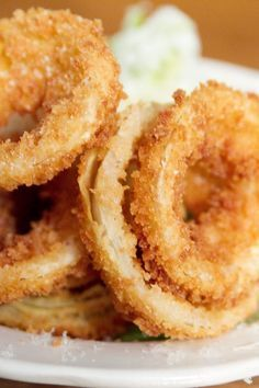 Old Fashioned Onion Rings Excellent recipe!  I used panko bread crumbs and these were amazing!