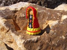 Sunny Spring Gnome Eco-Friendly Waldorf by TrissysTreasures
