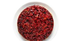 This Cranberry and Cornmeal Upside-Down Cake is good for dessert but even better for breakfast.