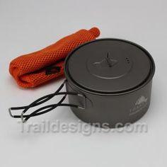 Toaks 900 ml Ultralight Titanium Pot | Trail Designs