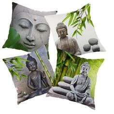 5.21$  Watch more here - Europe style zen printed Decortive throw pillow case decorate pillow case   #bestbuy