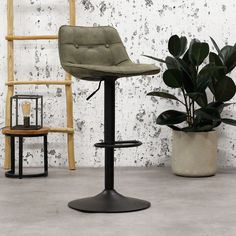 The Ezra bar stool has an elegant but tough appearance. The trumpet foot makes the stool very stable and tough looking. This stool is available from stock in 4 beautiful micro fiber colours. Industrial Bar Stools, Trumpet, Fiber, Colours, Elegant, Table, Furniture, Beautiful, Home Decor