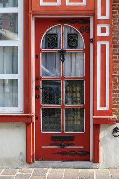 Red Door, St-anna, Brugues, Belgium