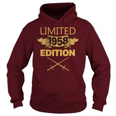 Limited 1958 Edition T Shirt Funny Birthday Gifts 59 Years Old #gift #ideas #Popular #Everything #Videos #Shop #Animals #pets #Architecture #Art #Cars #motorcycles #Celebrities #DIY #crafts #Design #Education #Entertainment #Food #drink #Gardening #Geek #Hair #beauty #Health #fitness #History #Holidays #events #Home decor #Humor #Illustrations #posters #Kids #parenting #Men #Outdoors #Photography #Products #Quotes #Science #nature #Sports #Tattoos #Technology #Travel #Weddings #Women