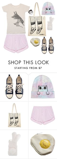 """mabel p.1"" by gb041112 ❤ liked on Polyvore featuring H&M, Lazy Oaf and True Religion"