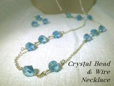 Triple Chain Bracelet Part 2 - Basic Beaded Chain - A Wire Wrap Tutorial - YouTube