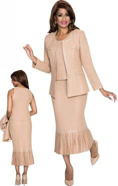 Sunday morning outfits from Dorinda Clark Cole The rose collection.