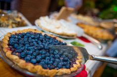 What picnic in the city would be complete without house-made pies; blueberry crumble, lemon curd, seven berry with dutch chocolate crust, apple & lemongrass, peanut butter,dark chocolate with bacon......YUMM!