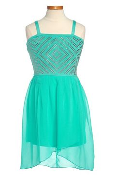Sally Miller 'New Diamond' High/Low Dress (Big Girls) available at #Nordstrom