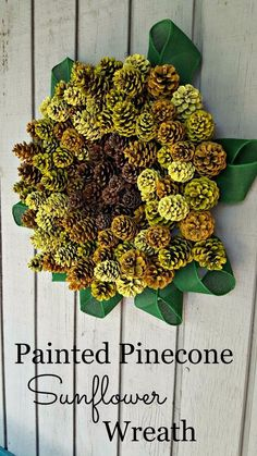 You might want to collect an armful of pine cones when you see this!