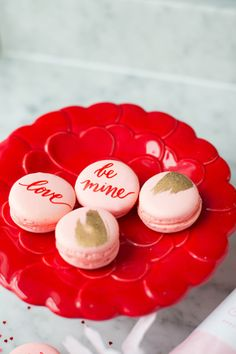 These macarons are delightfully darling.