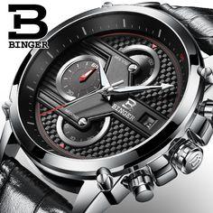 Genuine BINGER Bingo watches men fashion trend waterproof watch male watch watch flagship store #Affiliate