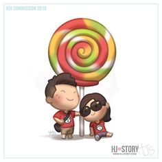 """891 Me gusta, 34 comentarios - Kate HJS (korea ) 신회정 (@kate.hjs) en Instagram: """"Kickstarter commission for Kevin and his girlfriend  #hjstory"""" Cute Couple Cartoon, Hj Story, Cartoons Love, Lovey Dovey, Sweet Little Things, Love Is Sweet, Our Love, I Love You, Love Pictures"""