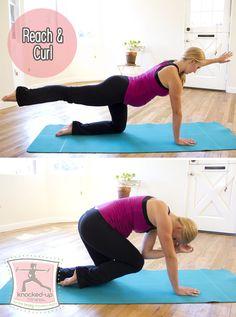 Consejos para el fortalecimiento de los músculos de la base profundas, importantes para una fuerte embarazo, el parto y rápido recuperarse más fácil después de bebé. Un gran ejercicio prenatal y postnatal Ejercicio. Plus Directrices abdominal Ejercicio durante el embarazo y después del bebé.